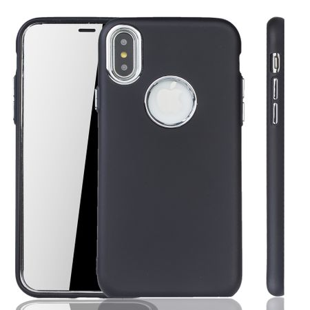 Apple iPhone X / XS Hülle - Handyhülle für Apple iPhone X / XS - Handy Case in Schwarz
