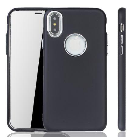 Apple iPhone X / XS Hülle - Handyhülle für Apple iPhone X / XS - Handy Case in Schwarz – Bild 1