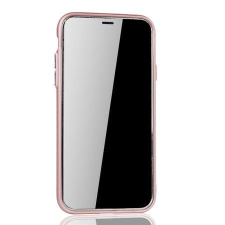 Apple iPhone X / XS Hülle - Handyhülle für Apple iPhone X / XS - Handy Case in Rose Pink – Bild 3