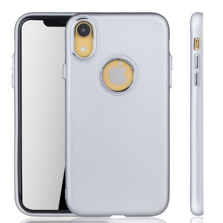 Apple iPhone XR Hülle - Handyhülle für Apple iPhone XR - Handy Case in Silber