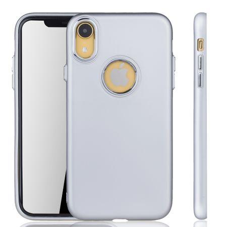 Apple iPhone XR Hülle - Handyhülle für Apple iPhone XR - Handy Case in Silber