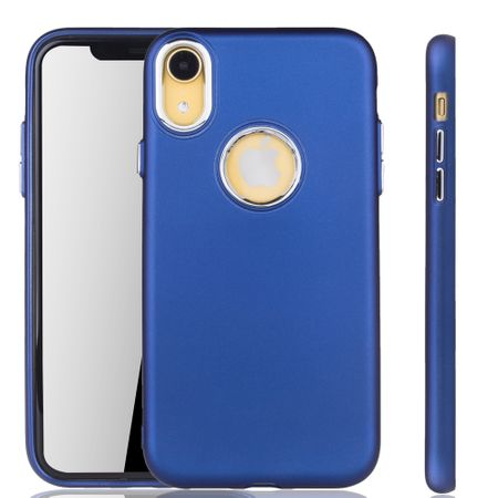 Apple iPhone XR Hülle - Handyhülle für Apple iPhone XR - Handy Case in Dunkelblau