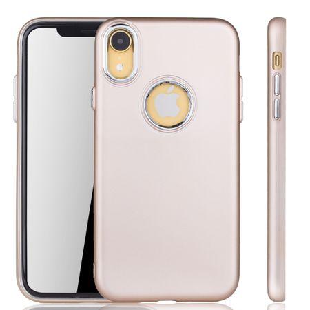 Apple iPhone XR Hülle - Handyhülle für Apple iPhone XR - Handy Case in Gold