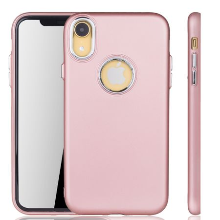 Apple iPhone XR Hülle - Handyhülle für Apple iPhone XR - Handy Case in Rose Pink