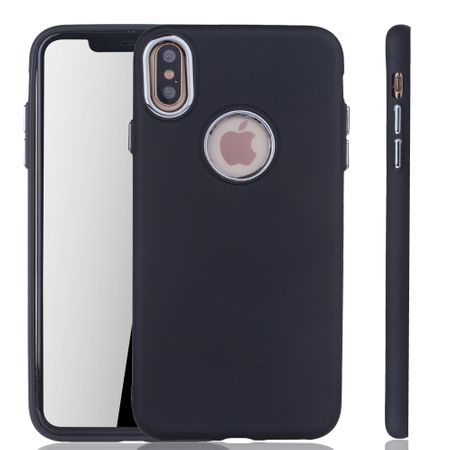 Apple iPhone XS Max Hülle - Handyhülle für Apple iPhone XS Max - Handy Case in Schwarz