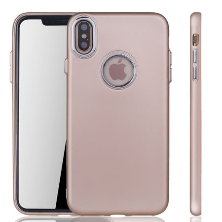 Apple iPhone XS Max Hülle - Handyhülle für Apple iPhone XS Max - Handy Case in Gold