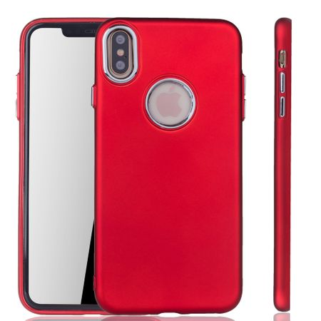 Apple iPhone XS Max Hülle - Handyhülle für Apple iPhone XS Max - Handy Case in Rot
