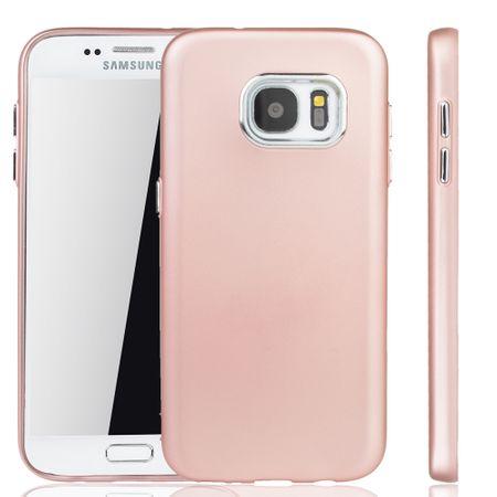 Samsung Galaxy S7 Hülle - Handyhülle für Samsung Galaxy S7 - Handy Case in Rose Pink