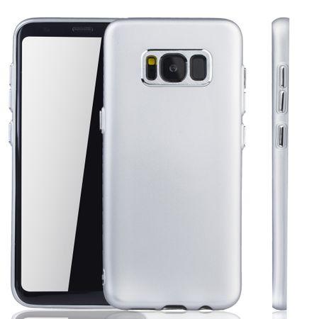 Samsung Galaxy S8 Hülle - Handyhülle für Samsung Galaxy S8 - Handy Case in Silber