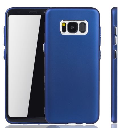 Samsung Galaxy S8 Plus Hülle - Handyhülle für Samsung Galaxy S8 Plus - Handy Case in Dunkelblau