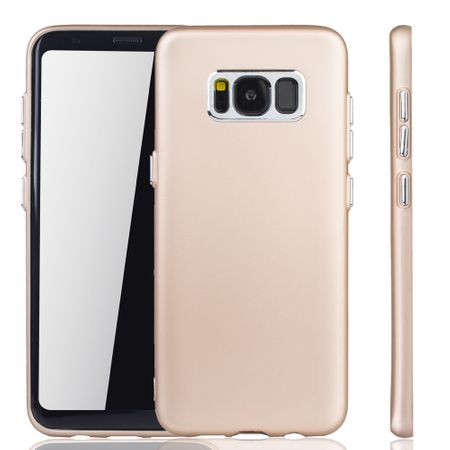 Samsung Galaxy S8 Plus Hülle - Handyhülle für Samsung Galaxy S8 Plus - Handy Case in Gold