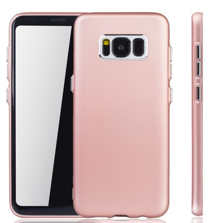 Samsung Galaxy S8 Plus Hülle - Handyhülle für Samsung Galaxy S8 Plus - Handy Case in Rose Pink