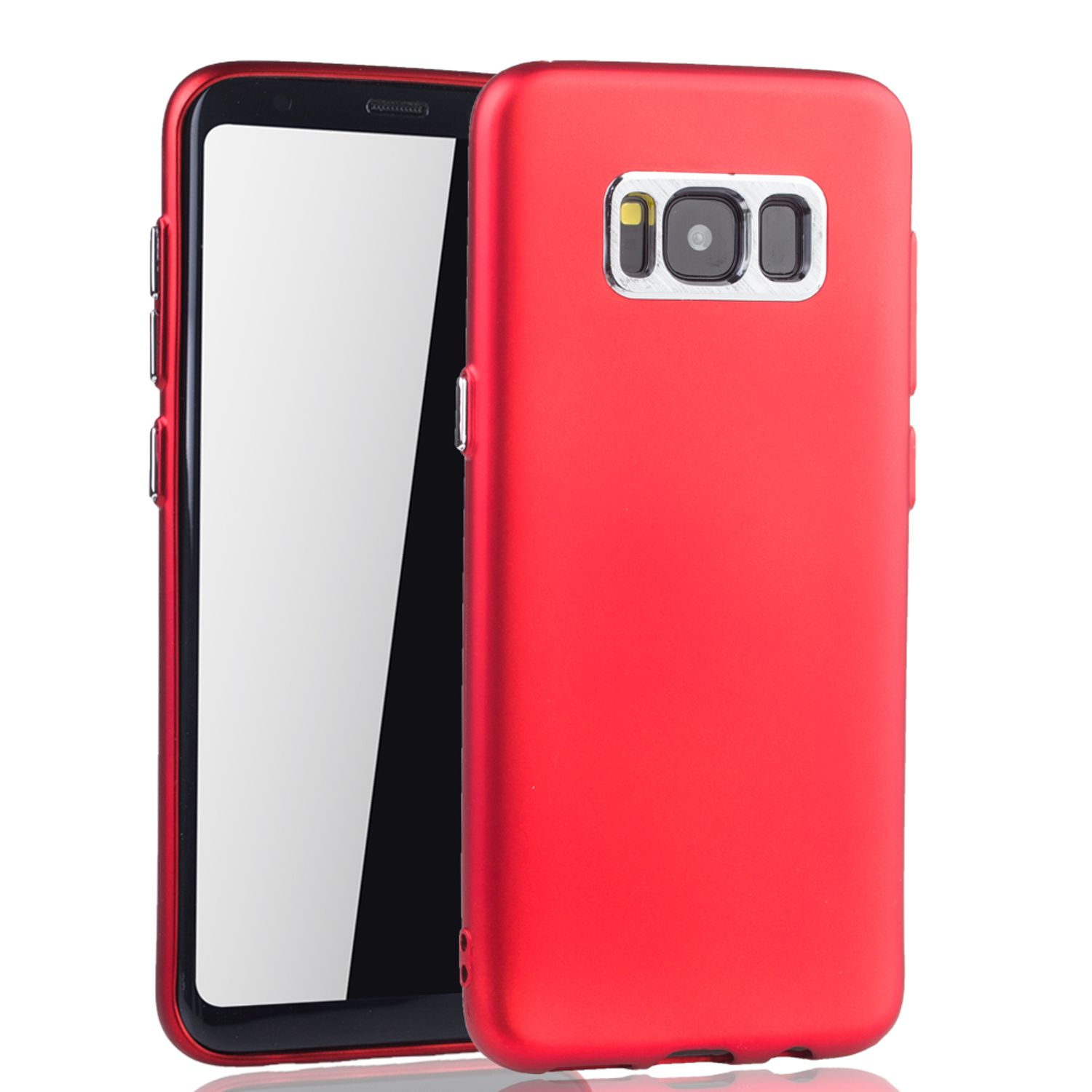 samsung galaxy s8 plus h lle handyh lle f r samsung galaxy s8 plus handy case in rot. Black Bedroom Furniture Sets. Home Design Ideas