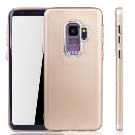 Samsung Galaxy S9 Hülle - Handyhülle für Samsung Galaxy S9 - Handy Case in Gold