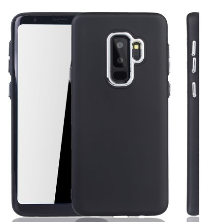 Samsung Galaxy S9 Plus Hülle - Handyhülle für Samsung Galaxy S9 Plus - Handy Case in Schwarz