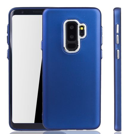 Samsung Galaxy S9 Plus Hülle - Handyhülle für Samsung Galaxy S9 Plus - Handy Case in Dunkelblau