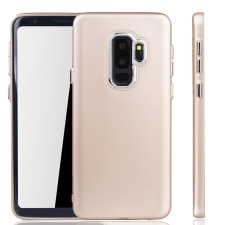 Samsung Galaxy S9 Plus Hülle - Handyhülle für Samsung Galaxy S9 Plus - Handy Case in Gold