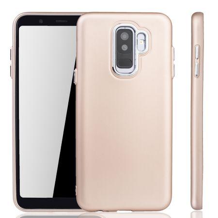 Samsung Galaxy A6 Plus Hülle - Handyhülle für Samsung Galaxy A6 Plus - Handy Case in Gold