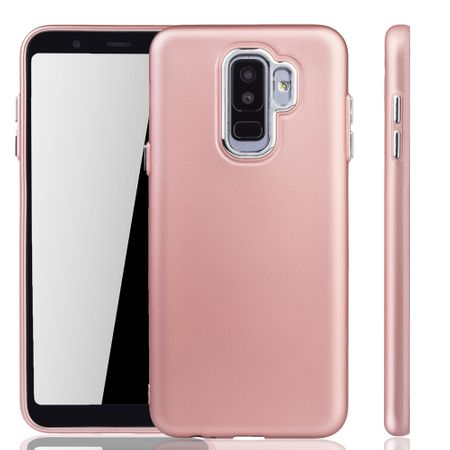 Samsung Galaxy A6 Plus Hülle - Handyhülle für Samsung Galaxy A6 Plus - Handy Case in Rose Pink