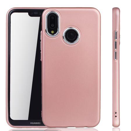 Huawei P20 Lite Hülle - Handyhülle für Huawei P20 Lite - Handy Case in Rose Pink