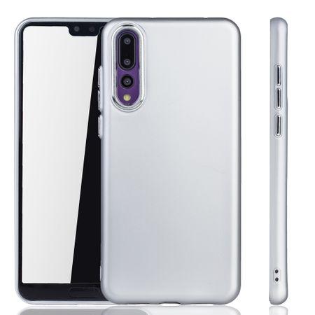 Huawei P20 Pro Hülle - Handyhülle für Huawei P20 Pro - Handy Case in Silber