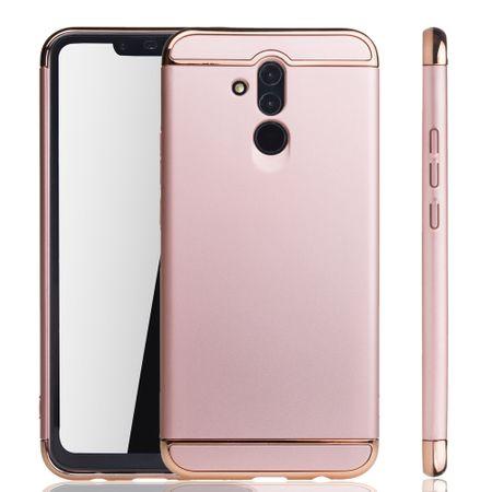 Huawei Mate 20 Lite Handy Hülle Schutz Case Bumper Hard Cover Pink