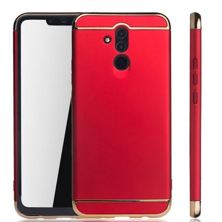 Huawei Mate 20 Lite Handy Hülle Schutz Case Bumper Hard Cover Rot