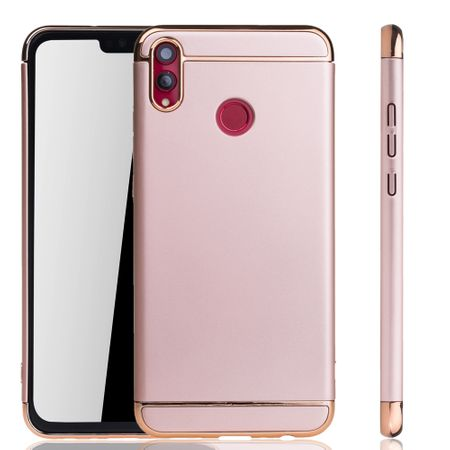 Huawei Honor 8X Handy Hülle Schutz Case Bumper Hard Cover Pink