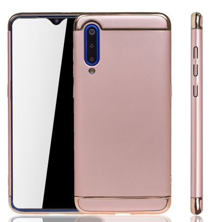 Xiaomi Mi 9 Handy Hülle Schutz Case Bumper Hard Cover Pink