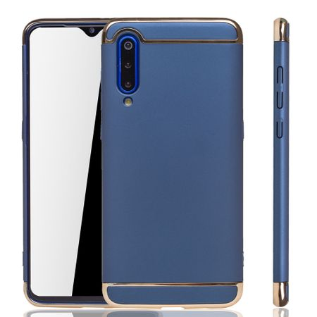Xiaomi Mi 9 Handy Hülle Schutz Case Bumper Hard Cover Blau