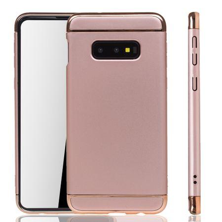 Samsung Galaxy S10e Handy Hülle Schutz Case Bumper Hard Cover Pink