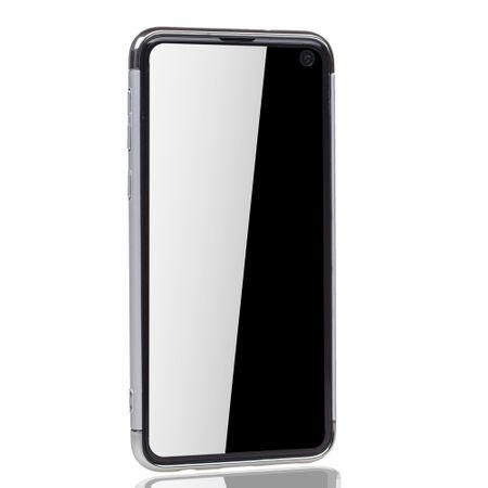 Samsung Galaxy S10e Handy Hülle Schutz Case Bumper Hard Cover Silber – Bild 3