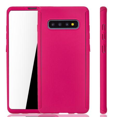 Samsung Galaxy S10 Hülle Case Handy Cover Schutz Tasche Fullcover Panzerfolie – Bild 1