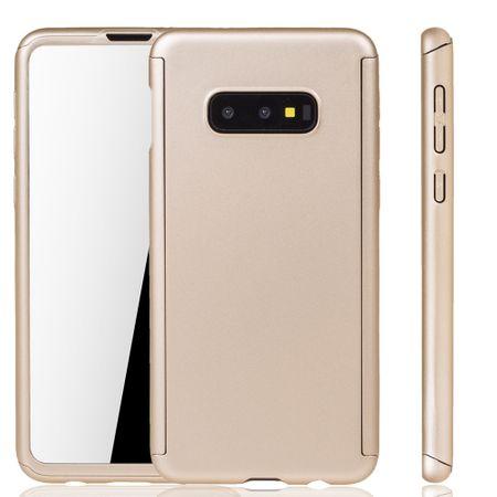 Samsung Galaxy S10e Hülle Case Handy Cover Schutz Tasche Fullcover Panzerfolie
