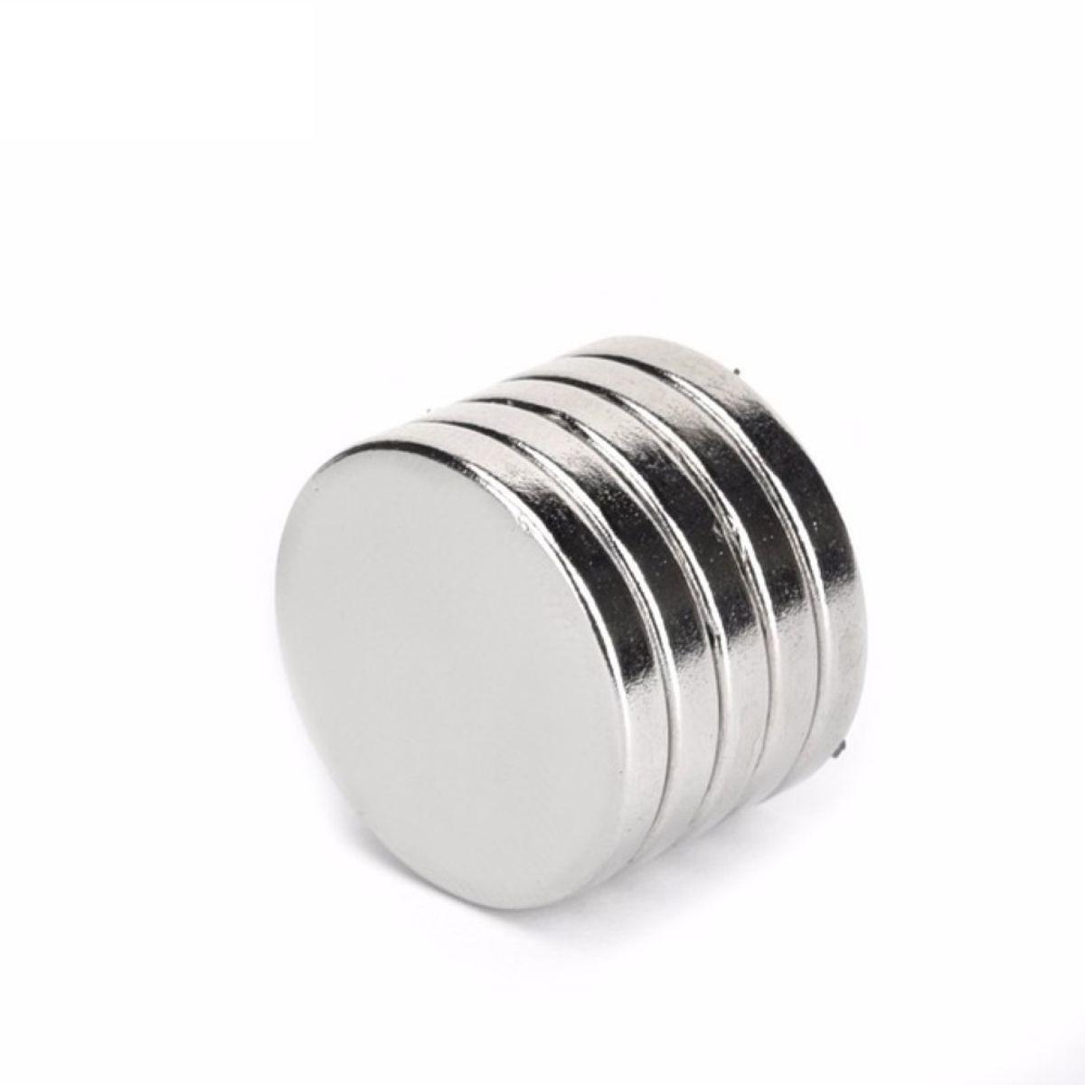 Neodym Magnet 12 x 5 mm Supermagnete hohe Haftkraft Scheibenmagnet N35 25 Stück