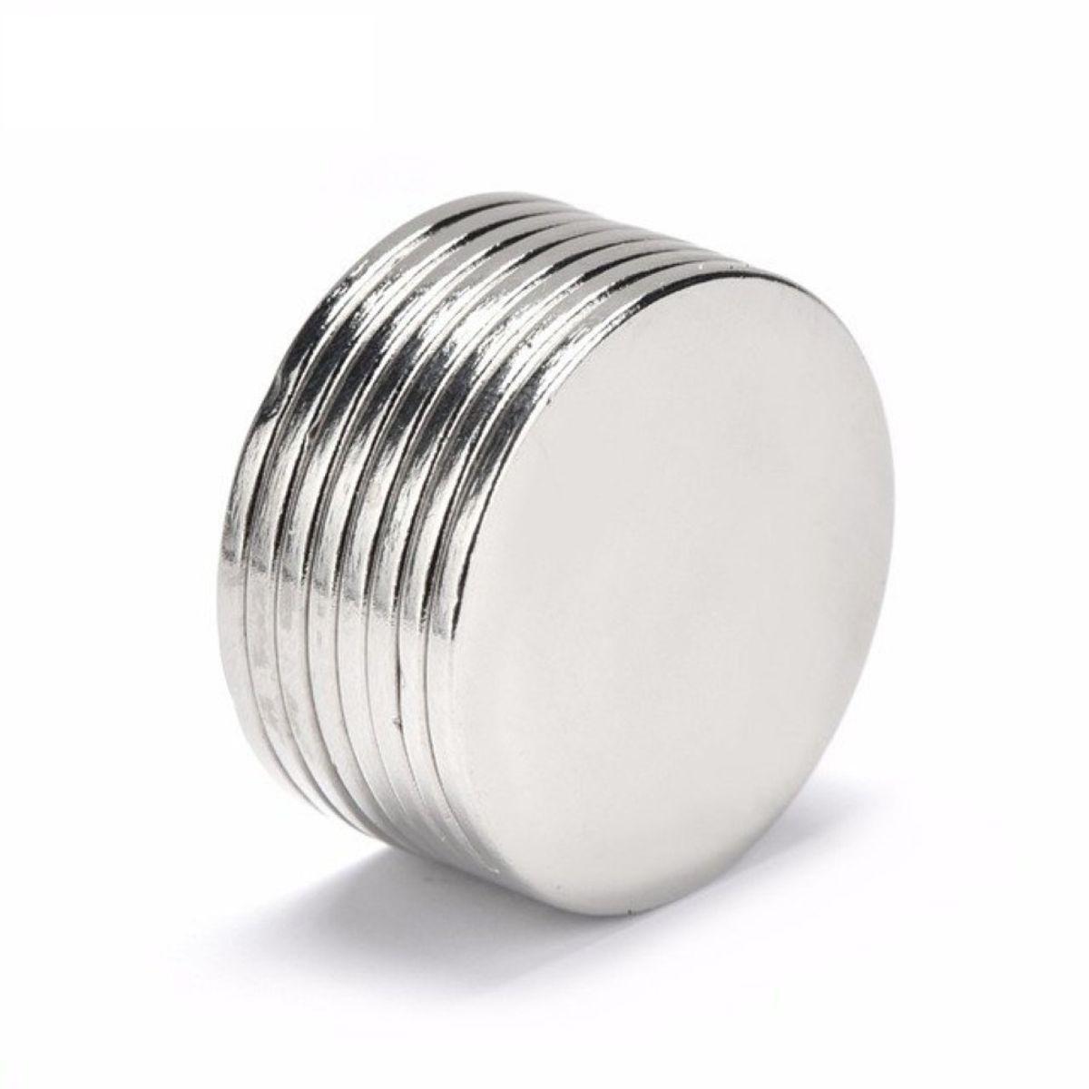 set da 100 Omicube Mini-magneti extra forti 5 x 1 mm