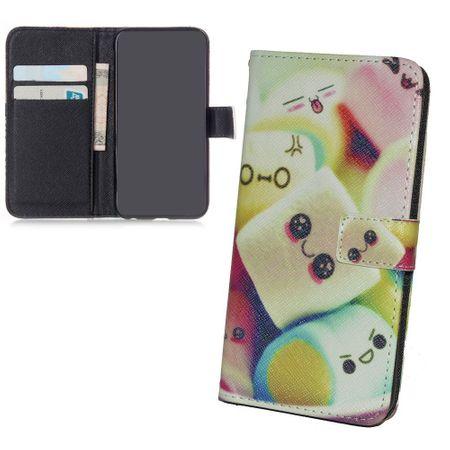 Handyhülle Tasche + 1 Panzer Schutz Glas für Handy Asus Zenfone 6  Marshmallows