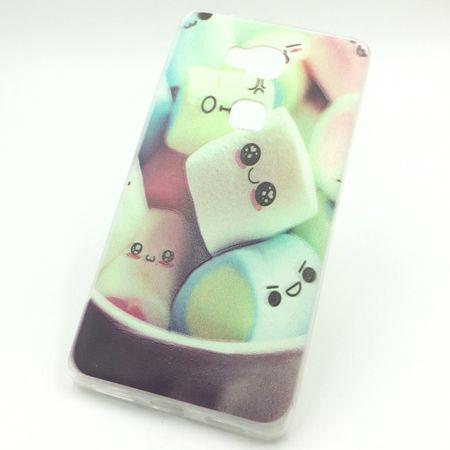 Handy Hülle für Huawei Honor 5X Marshmallows Tasche Case Cover + 1x Panzer Schutz Glas