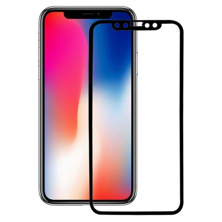 Apple iPhone XS 3D Panzer Glas Folie Display 9H Schutzfolie Hüllen Case Schwarz