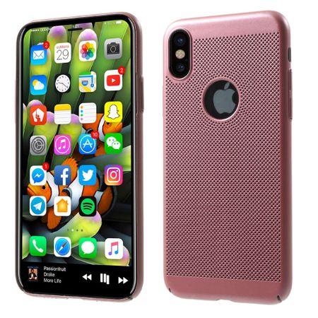 Handy Hülle für Apple iPhone XS Schutzhülle Case Tasche Cover Etui Pink