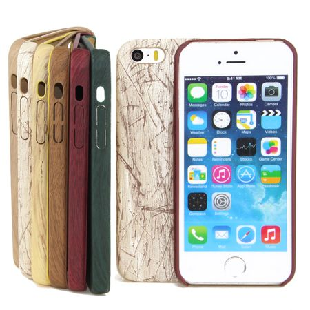 Apple iPhone Serie TPU Handy Hülle Holz Optik Schutz Case Cover Flexibel Bumper