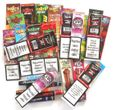 10 Blunt Wrap Probierpaket Platinum Blunts, Juicy, Kingpin, Magnum, Cyclones
