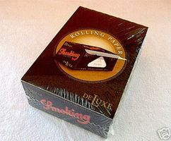 SMOKING Papers Rolls de LUXE BOX