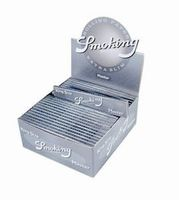 SMOKING Papers MASTER Silber Extra Slim 50 x 33 Blättchen BOX (VE)