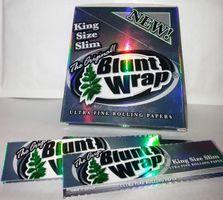 1 Box (25 Stück), Blunt Wrap, King Size Slim, Smoking Papers