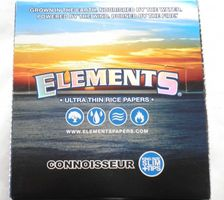 Elements Connoisseur King Size Slim mit Tips, Box 24 x 33