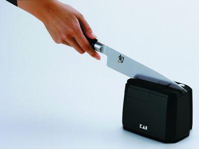 AKTION KAI Elektrischer Messerschärfer inkl. Poliereinheit – Bild 2