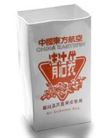 CHINA EASTERN Vase orange 001