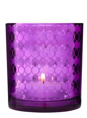 Sagaform Mirror Kerzenhalter lila 3er Set – Bild 1