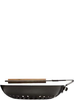 Sagaform BBQ bamboo Grill-Wok – Bild 2